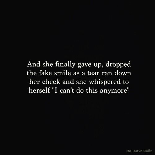 Wish I could drop the fake smile #quotes #poetry – ilim