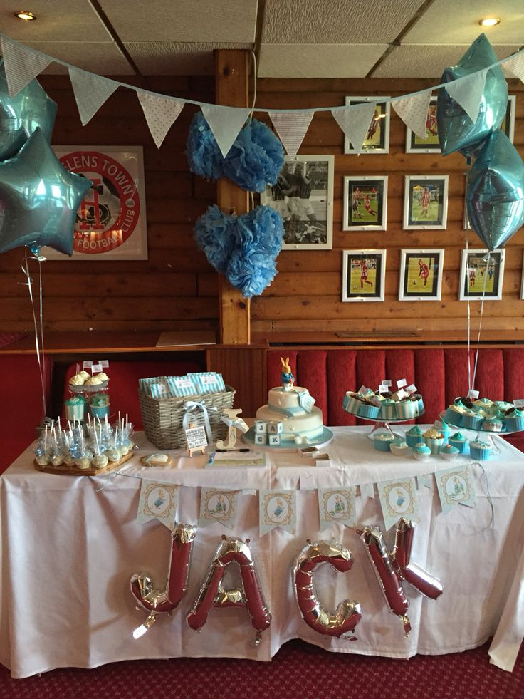Shabby chic christening theme decor by kieras occasions