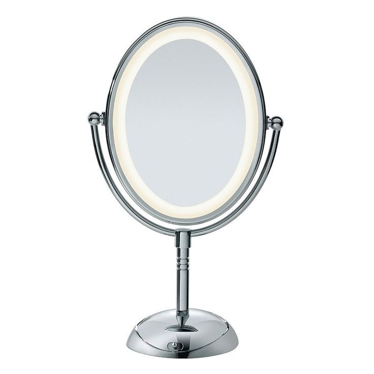 Conair Reflections LED Lighted Mirror, Multicolor