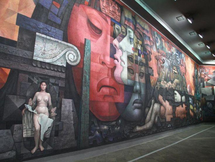 Mural Presencia de América Latina - Universidad de Concepción - Chile