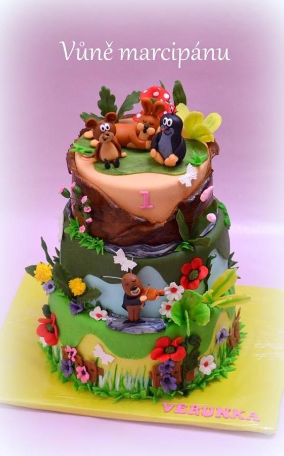Mole and friends - Cake by vunemarcipanu