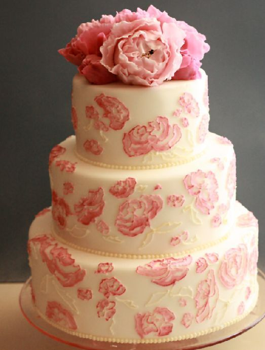 peony wedding cake ideas best 25 peony wedding cakes ideas on 18192
