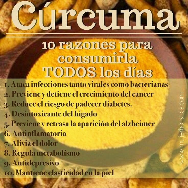 Curcuma beneficios