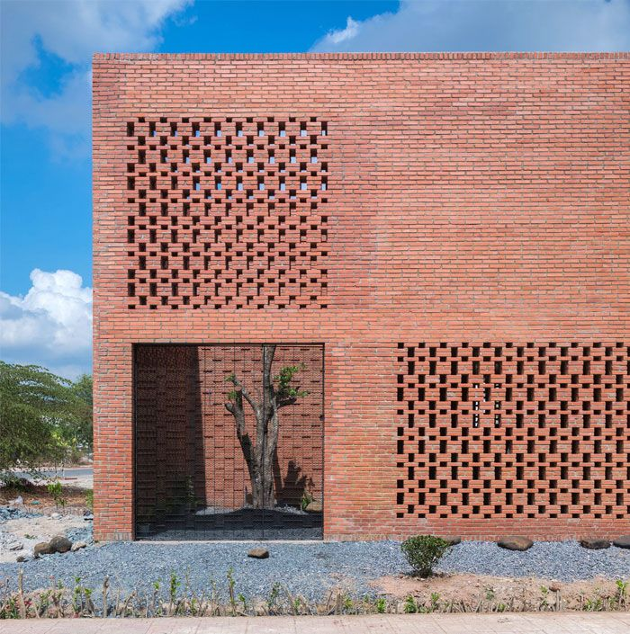 Small Brick House by Tropical Space on Behance