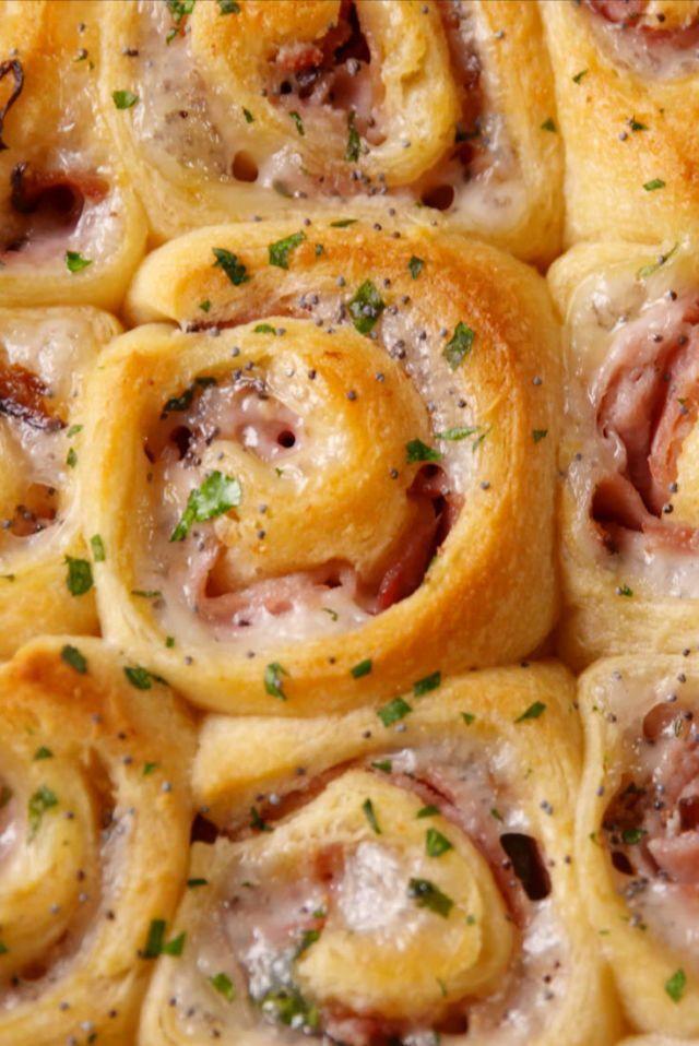 Ham & Cheese Pinwheels  - Delish.com