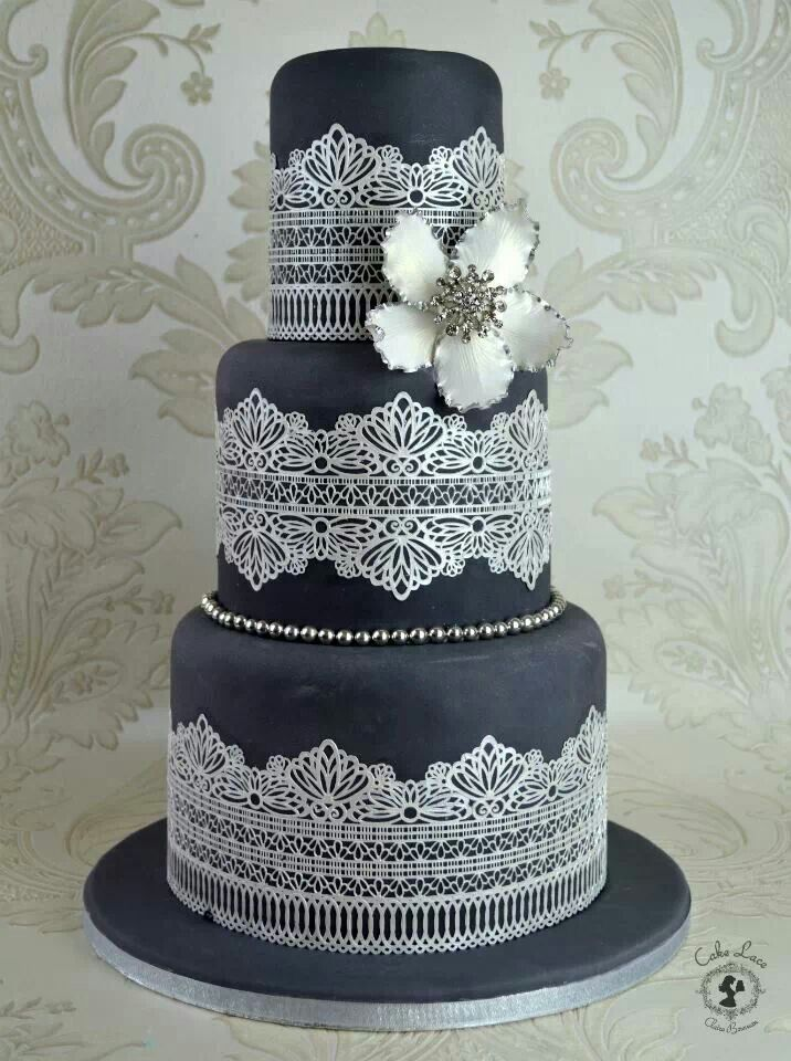 black and white lace wedding cakes 17 best ideas about lace cakes on vintage 11837