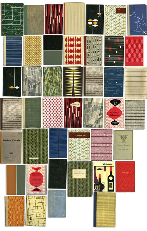 vintage book cover patterns.