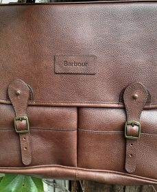 Barbour® Leather Briefcase