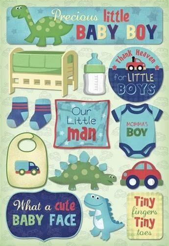 KAREN FOSTER DESIGN MOMMA'S BOY BABY CHILDREN KIDS MAMMA MOM SCRAPBOOK STICKERS | eBay