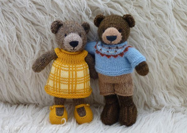 Little Cotton Rabbits: ...and bears, oh my!
