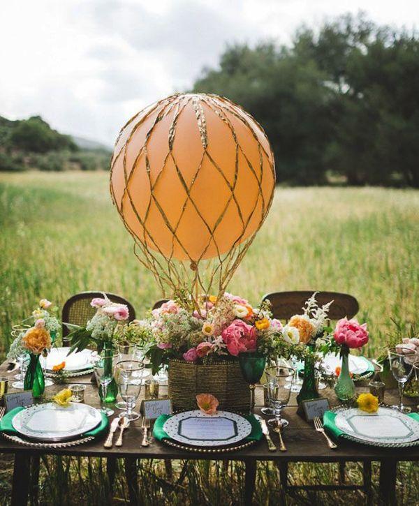 これなら実践できそう!手作りの気球アイテムが素敵なインテリアに−Hot Air Balloon