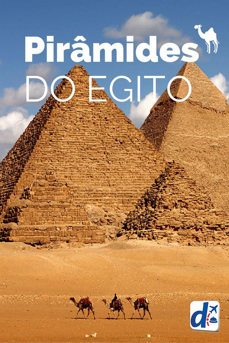 As #Pirâmides do #Egito são as construções mais antigas do mundo e fascinam por seu mistério e valor histórico. Confira todas suas curiosidades!