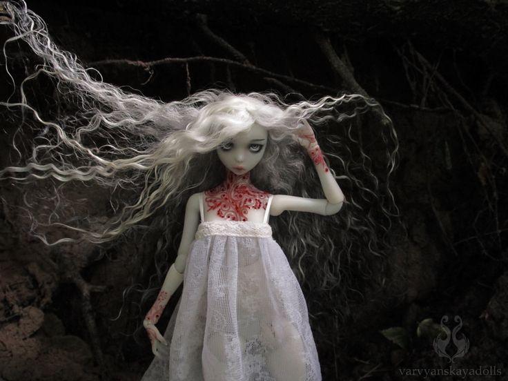 ball jointed doll Annabel Lee by varvyanskayadolls on Etsy https://www.etsy.com/listing/400684941/ball-jointed-doll-annabel-lee