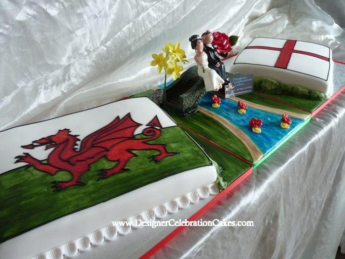 welsh wedding cakes wales and england wedding cake