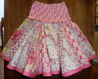 "liberty ""frufru""skirt"
