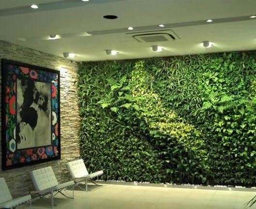 diseo sustentable paredes verdes ecoturismo jardines verticales interiores fuentes pinturas casas
