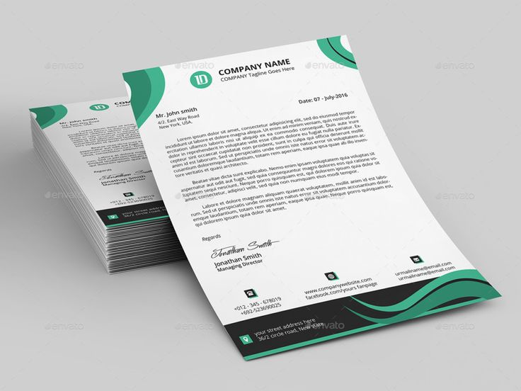 1000+ идей на тему Letterhead Template в Pinterest Хедер - professional business letter template word