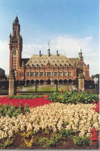 International Court of Justice, The Hague - The Netherlands. A city of international peace & justice