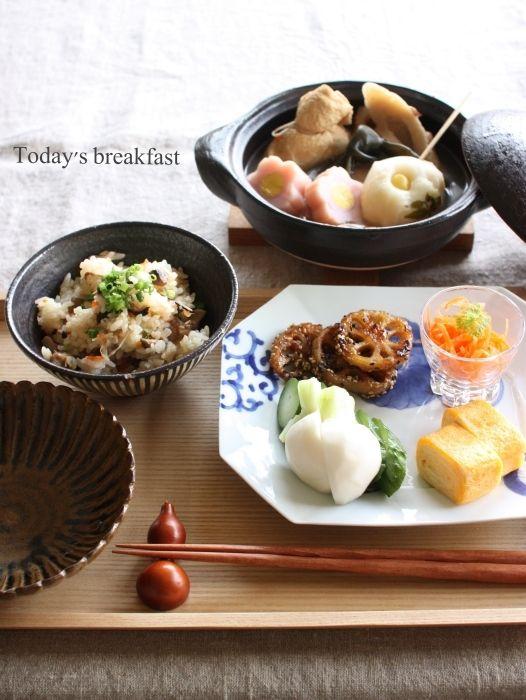 Japanese Breakfast 和風の朝ごはん