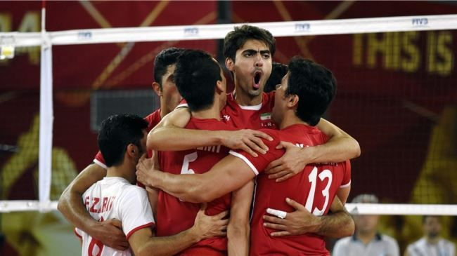Iranian men's national #volleyball team has hugely bettered its international ranking, climbing up 13 steps. #Iran