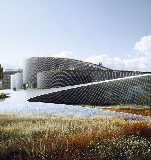 © BIG designs human body museum in france