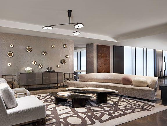 Korduda Sofa Vladimir Kagan For Holly Hunt Luxury Living Room