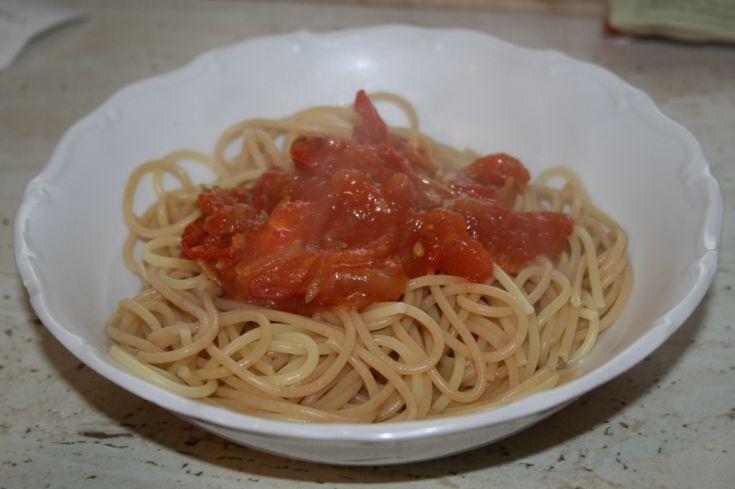 Cestoviny s paradajkami