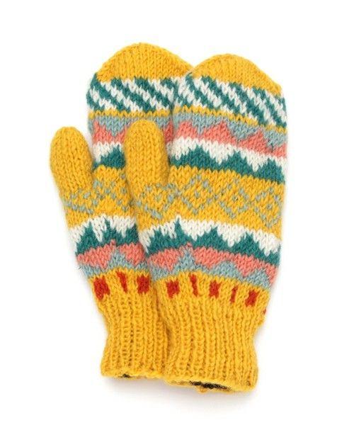 【ZOZOTOWN】チチカカ(チチカカ)の手袋「ミトン ギザギザ イエロー」(65069557)をセール価格で購入できます。