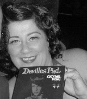 Miss Duchess Di Dee,pin up judge for the 1st Miss Sou West Vintage Fest Pin Up 2013. www.capeoflove.com