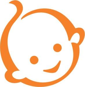 Het logo van Zwitsal. Ik vind een commercial goed als het product goed is en het een naam en logo heeft die je goed onthoudt.