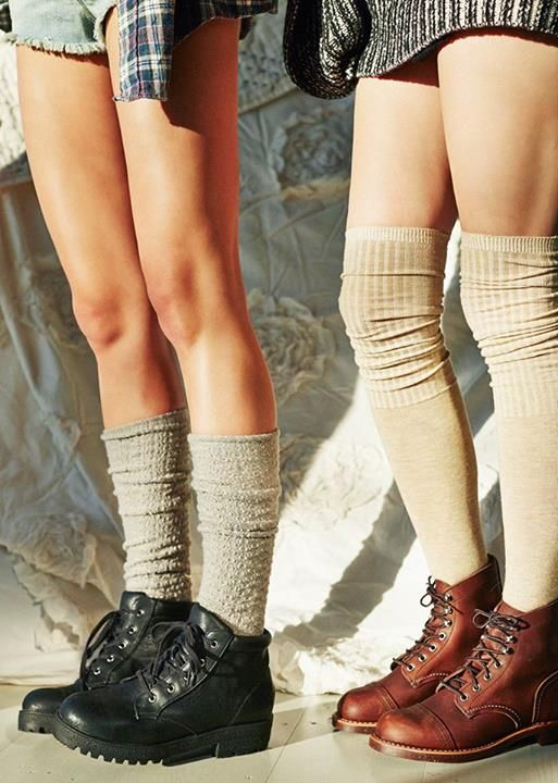 Urban outfitters socks and boots, perfect for the spring / summer outdoor mountain look. Trending! Boots: £45 // Socks: £15