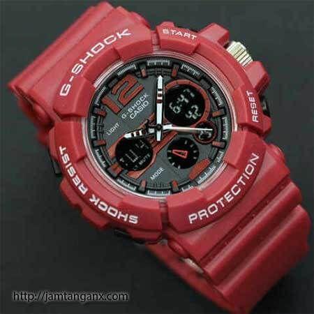 jam tangan g shock GAC110 warna merah