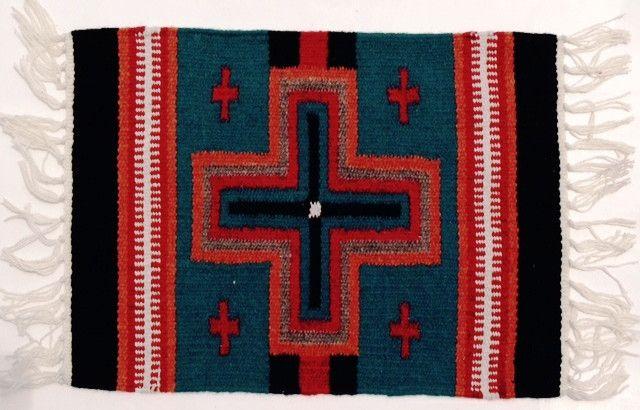 (EPHIM1520-6) Woolen Southwestern Placemat