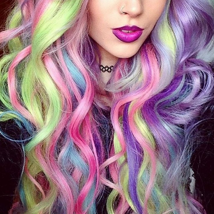 15 best Some Hair Over The Rainbow images on Pinterest | Hairstyle ...