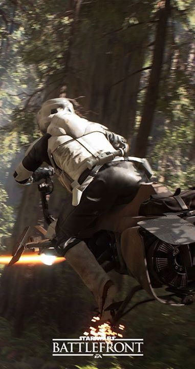 Starwars Battlefront- a highly anticipated game showcased at E3 which is an adaption of the loved and highly acclaimed Star Wars series..