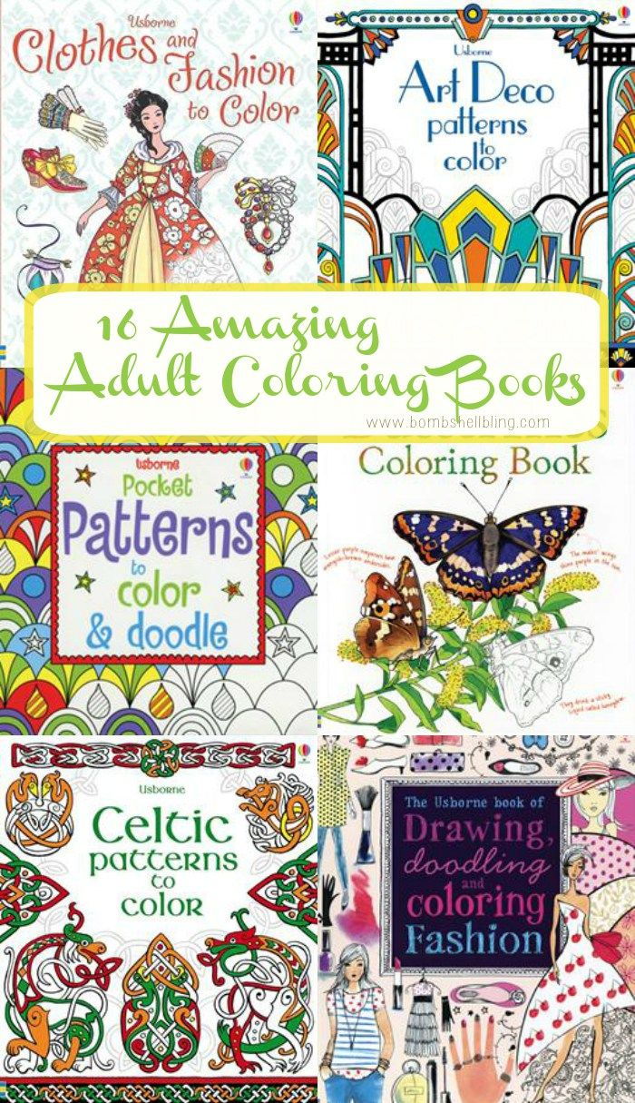 Adult coloring books I m obsessed