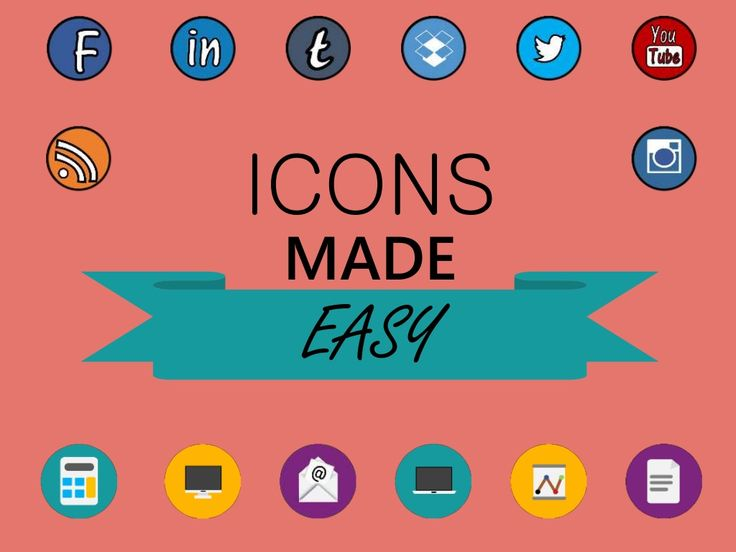 Create icons on PowerPoint - the quick and easy guide! by Thomas Homan via slideshare