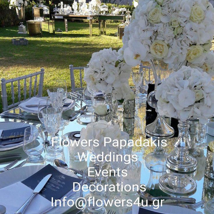 Ζητείστε  σήμερα την δική σας προσφορά  ανθοστολισμού γάμου  στο info@flowers4u.gr η στο 2109426971    Το Flowers Papadakis  αναλαμβάνει γάμους και δεξιώσεις σε όλη την Ελλάδα ! Wedding Destination Athens ,Islands Mikonos ,Santorini ,Hydra ,Andros, Crete,Keffalonia  . Σας περιμένουμε για να οργανώσουμε και διακοσμήσουμε μαζί την μοναδική σας ημέρα και να την κάνουμε πραγματικά ξεχωριστή!  ΑΝΘΟΔΙΑΚΟΣΜΗΣΕΙΣ ΕΚΔΗΛΩΣΕΩΝ  ΓΑΜΩΝ ΔΕΞΙΩΣΕΩΝ  Ζησιμοπούλου 91 Π.ΦΑΛΗΡΟ  www.flowers4u.gr     Flowers…