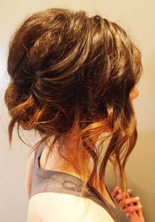 Trending Long Bob Updo Ideas | Bob Hairstyles 2015 - Short Hairstyles for Women