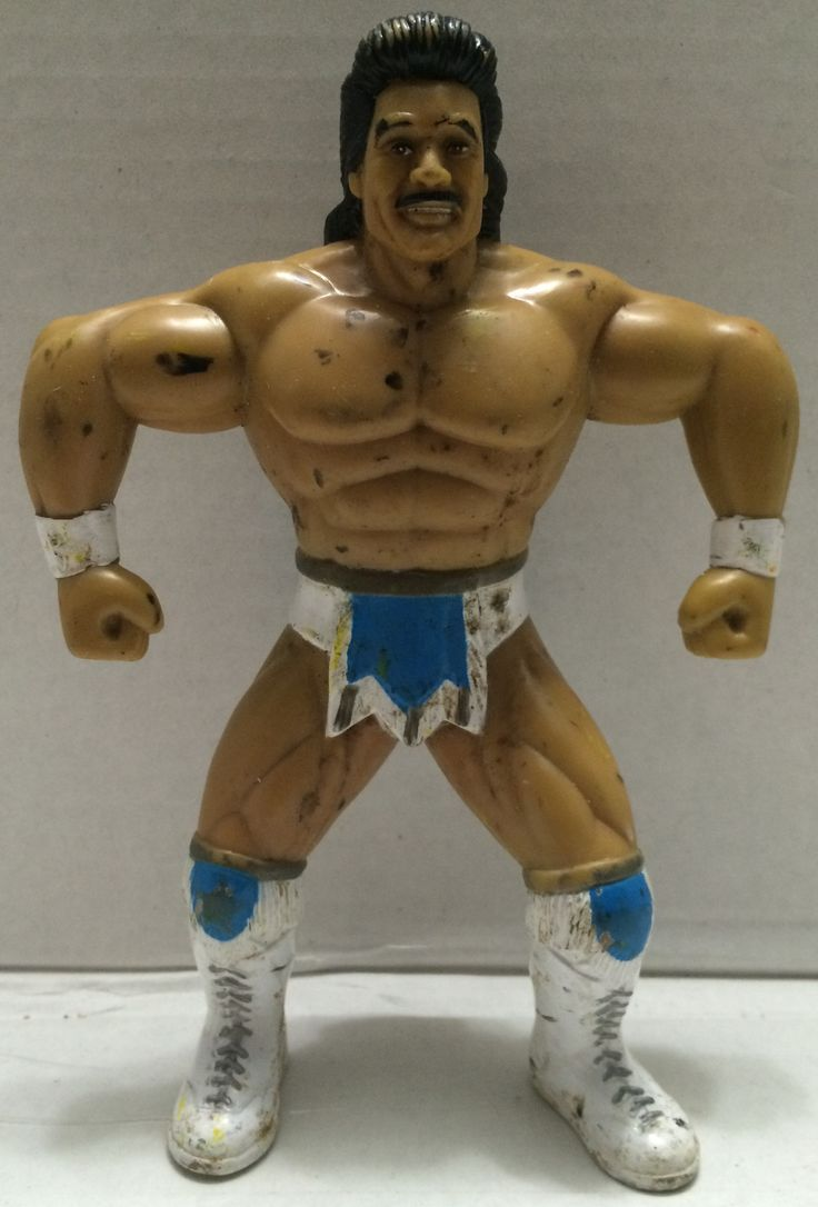 (TAS033303) - 1999 Toymakers WCW WWE Wrestling Action Figure Johnny B Badd