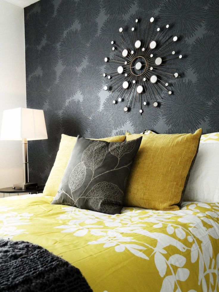 Bedroom Ideas Yellow And Gray 80 best yellow bedrooms images on pinterest | home, yellow and colors
