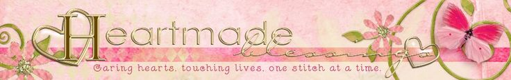 Heartmade Blessings is a world-wide group of volunteers dedicated to providing hand-crafted items to those people suffering a loss, tragedy, or going through a rough time that need to be reminded of the simple fact that people care.