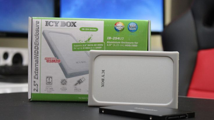ICY BOX External Enclosure UASP Support Overview