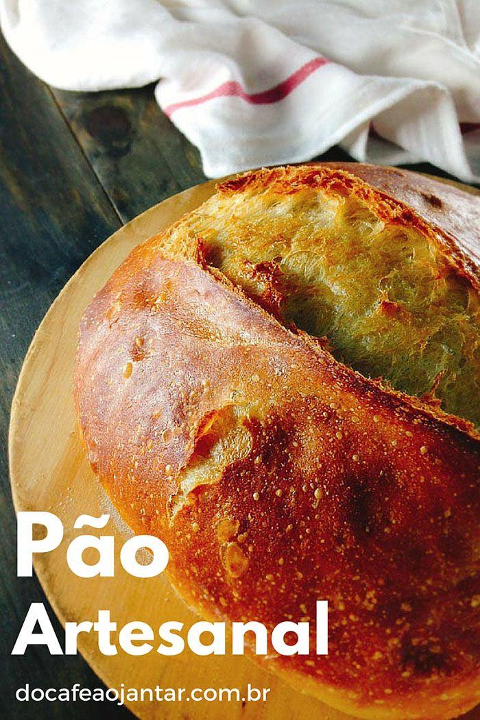 Receita de Pão Artesanal