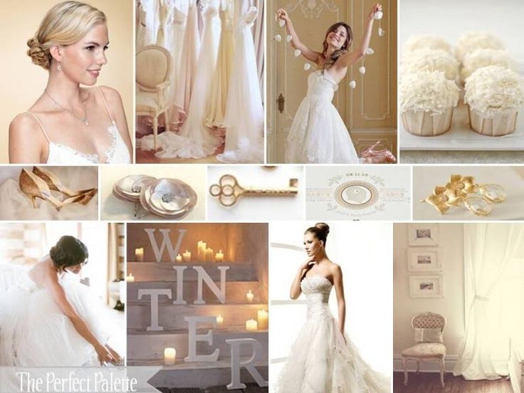 Love Love Love This Color Palette Gold Ivory Amp White Very Chic And Classy
