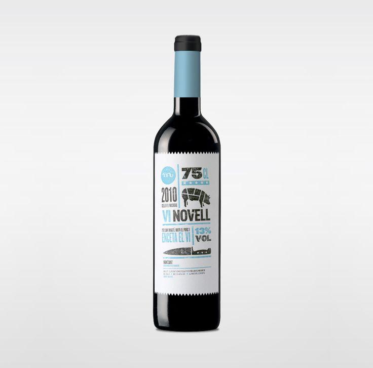 Vi Novell 2010: Wine Bottle