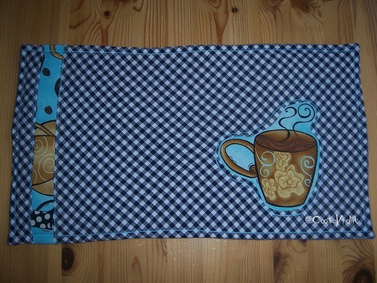 Placemat koffie