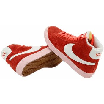 quality design f73a1 5d8a2 Basket Nike Blazer Mid Suede Vintage - Ref   518171-800. Couleur   Rouge