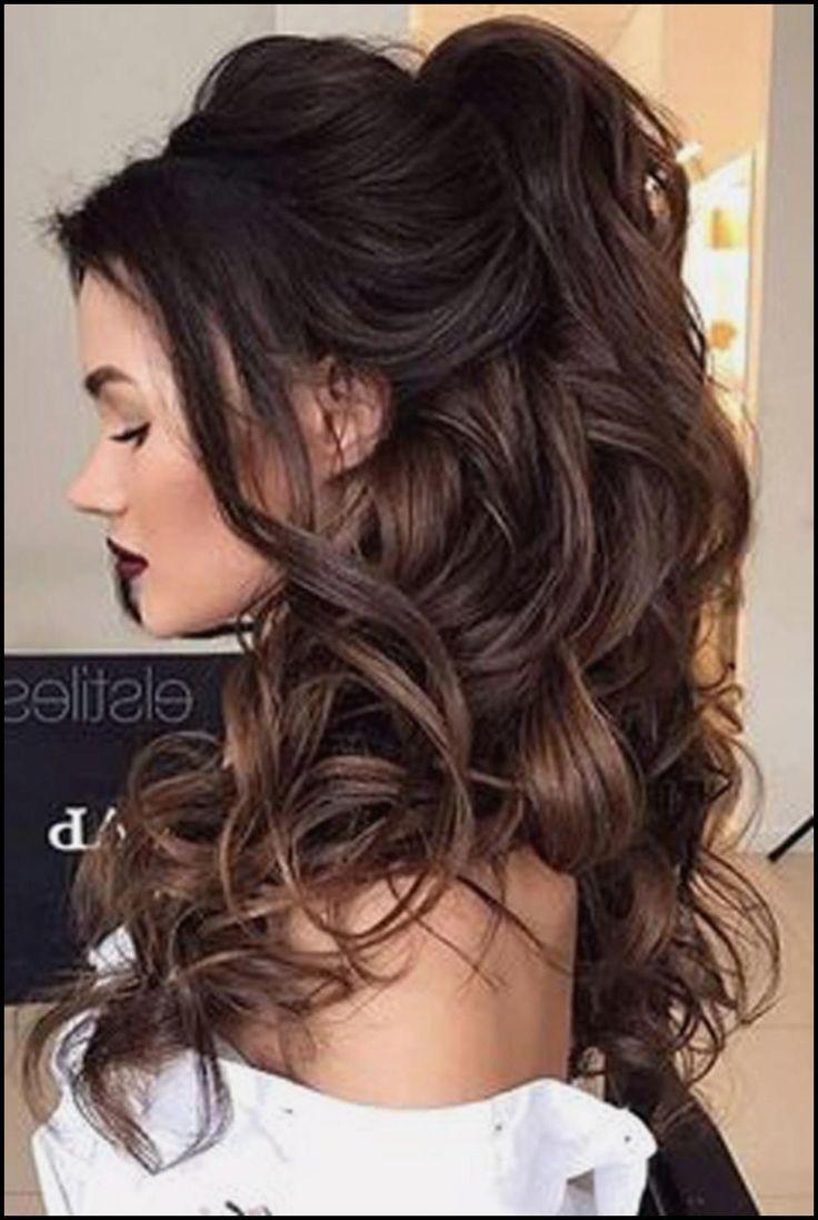 Neu Abiball Frisuren Lange Haare Halboffen Mdhairlosscom