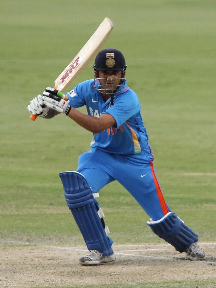 Gambhir against Sri Lanka - this is proving to be one fine ODI series.